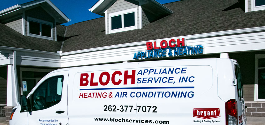 Bloch does it all—Heating, Cooling, Indoor Air Quality, and Appliance Repairs